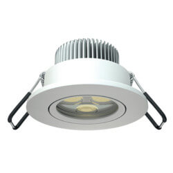 DL SMALL 2000-5 LED WH